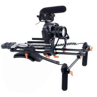 Wholesale New PRO dslr rig kit with Motorized Follow Focus Shoulder Rig Support Pad from china suppliers