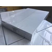 Quality 0.1mm Overlay PVC Card Material Transparent Plastic Sheets With Glue Film for sale