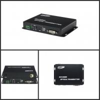 Wholesale 10km Audio Video DVI Fiber Optical Media Converter Over SFP Connector , 1080p@60Hz from china suppliers