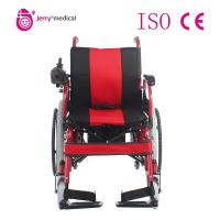 Wholesale Handrim Plus Adult / Kids Lightweight Folding Wheelchairs Compact Design For Travel from china suppliers