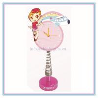 Wholesale New promo gifts fashion table clock for brands from china suppliers