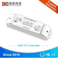 Wholesale Bicolor BC-422 2 channels DC12V-DC24V color temperature dimmer; Constant Voltage CCT led controller with Push Dim from china suppliers