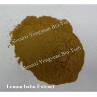 Buy cheap Manufacturer supply Lemon balm Extract 5:1, high quality, Export standard, stable stock and quality, Melissa officinalis from wholesalers