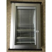 Wholesale 1.2mm Clear PVC Glass Window Shutters / Rolling Adjustable Louvers Window from china suppliers