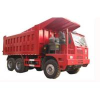 Wholesale Sinotruk howo heavy duty loading mining dump truck for big rocks in wet mining road from china suppliers