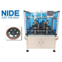 Wholesale Double Working Station Wheel Motor Hub Motor Stator Winding Machine 220V 50Hz / 60Hz from china suppliers
