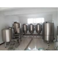 Wholesale 200L mini brewery equipment draught beer system from china suppliers
