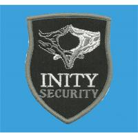 Wholesale Custom made embroidered security guard badges,embroidery uniform accessories, affordable, from china suppliers