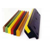 Wholesale Solvent Resistant PU Polyurethane Screen Printing Squeegee Blade Scraper from china suppliers