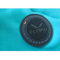 Quality Silicone Material  Pvc Cloth Label , Custom Design PVC Rubber Patch 3D Silicone Care Label for sale