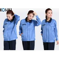 Quality Cotton / Polyester Wearable Custom Work Uniform Safety Engineering Workwear for sale