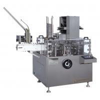 Quality PLC Touch Screen Automatic Cartoning Machine Bottles Packing Equipment 1-4 Fold for sale