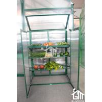 Wholesale 38. 5x 76 x 98.5cm Green Color Nursery Series Aluminum Greenhouse from china suppliers