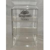 Wholesale Liquor Store Wine Display Stand Acrylic Wine Display Case With Custom Logo from china suppliers