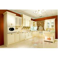 Buy cheap Exquisite solid wood kitchen cabinet classic style wood kitchen cabinet kitchen cupboard from wholesalers