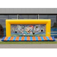 Wholesale CE/EN15649 Customized Inflatable Football Goal With 5 Years Or Above Lifespan from china suppliers