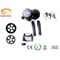 Wholesale Durable Electric Bike Mid Drive Motor Kit , Long Range Electric Bike Kit With Crank from china suppliers