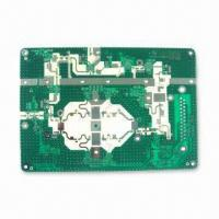 Wholesale High Frequency Double-sided PCB with Minimum Diameter of 0.35mm from china suppliers