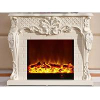 Wholesale Customizable White Portable Electric Fireplaces Antique Appearance from china suppliers