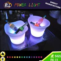 Quality Bar Furniture Waterproof Illuminated Small LED Ice Cooler for sale