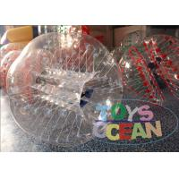 Wholesale Amazing Durable Clear Inflatable Human Bumper Ball With TPU / PVC Material from china suppliers