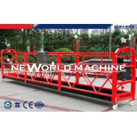 Wholesale Red Yellow  Blue Rope Suspended Platform Cradle for Exterior maintenance cleans from china suppliers