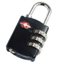 Wholesale TSA 3 Digital Luggage PadLock from china suppliers