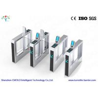 Wholesale Automatic Time Attendance Face Reader Biometric Turnstile 100W For Exhibition halls / Museum from china suppliers