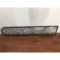 Wholesale Translucency Bevel Art Glass Panels Curve / Flat Shape Custom Size from china suppliers