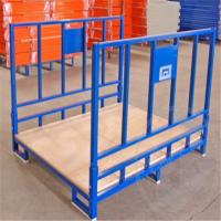 Wholesale Foldable Metal Pallet Cloth Cage Storage Container for Warehouse from china suppliers