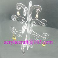 Buy cheap Elegante transparente Baum Shaped Acryl Auslage für Earring from wholesalers