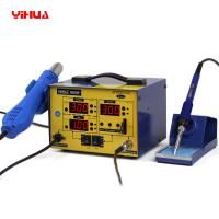 Quality YIHUA 882D+ Lead Free 2 In 1 Soldering Station / Rework Station 720W for sale