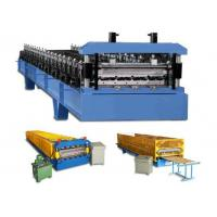 Wholesale Wall Cladding Corrugated Roll Forming Machine customized With Hydraulic from china suppliers