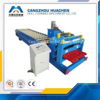 Wholesale PPGI Colored Glazed Tile Roll Forming Machine 380V 50HZ 3phase , 3000kg-20000kg from china suppliers