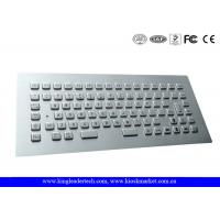 Wholesale Rugged Panel Mount Stainless Steel  Keyboard with 12 Function Keys , CE / FCC from china suppliers