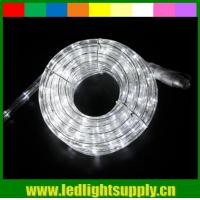 Wholesale decoration light 2 wire merry christmas white color led rope lights from china suppliers