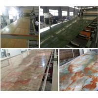 Wholesale PVC Imitation Marble Decorative Sheet Extruder/PVC Marble Board Extrusion Machine (SJSZ80X156) from china suppliers