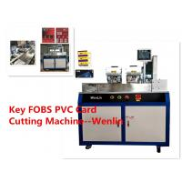 Wholesale TK4100 ID PLC Servo Automatic Card Punching Machine Small Visa PVC Card Cutter from china suppliers
