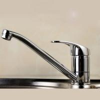 Buy cheap Ceramic Disc Valve Single Handle Bathroom Faucet Hot / Cold Mixer from wholesalers