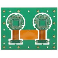 Wholesale Rigid Flex PCB / Four Layer Printed Board Lead Free HASLSurface Finishing Green Solder Mask from china suppliers