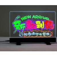 Wholesale Flashing Illuminated Erasable Neon LED Writing Board Menu Table Sign with Controller LED Message Board Display LED Sign from china suppliers