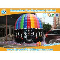Wholesale 5m Dia Funny  Inflatable Disco Jumping Area Inflatable Castle Bouncer Customized from china suppliers