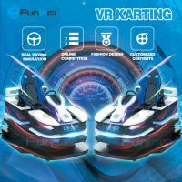 Buy cheap Interesting Design 9D VR Simulator Speed Racing VR Arcade Game Machine from wholesalers