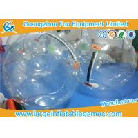 Wholesale Commercial Float Inflatable Human Hamster Ball For Pool , Human Water Bubble Ball from china suppliers