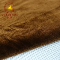 Wholesale 50D FDY 4 Way Stretch 1.5mm pile KS Korea spandex Velvet Fabric from china suppliers