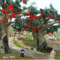 Buy cheap mountain/park beauty spot landsaping artificial banyan tree from wholesalers