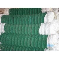 Quality PVC coated, electro galvanized and hot-dipped galvanized Chain link wire mesh for sale