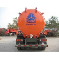 Quality Howo 6x4 Djibouti Market With Air Conditioner 129hp 8m³ Sewage Vacuum Truck for sale