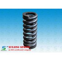 Quality Customized Alloy Steel Hot Wound Springs , Overload Coil Springs Black Painted for sale