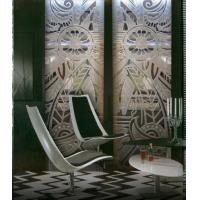 Wholesale Deep-Carving Interior Decorative laminated Glass Doors 10mm For Cafe Decoration from china suppliers